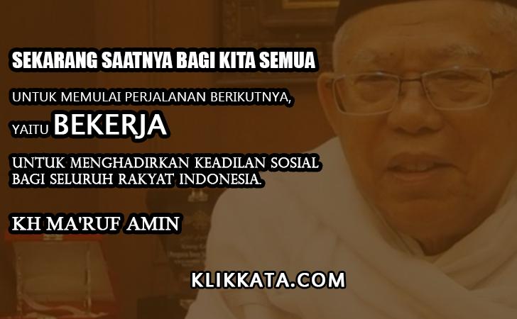 Kata Kata K.H. Ma'ruf Amin