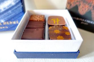 Mes Adresses : Chocolats Pierre Hermé, collection de Noël Fééries Célestes mise en écrin par le street artiste Philippe Baudelocque