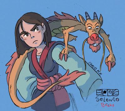FANART BY SELENTO BOOKS Mulan : Disney 13 Septiembre 2020