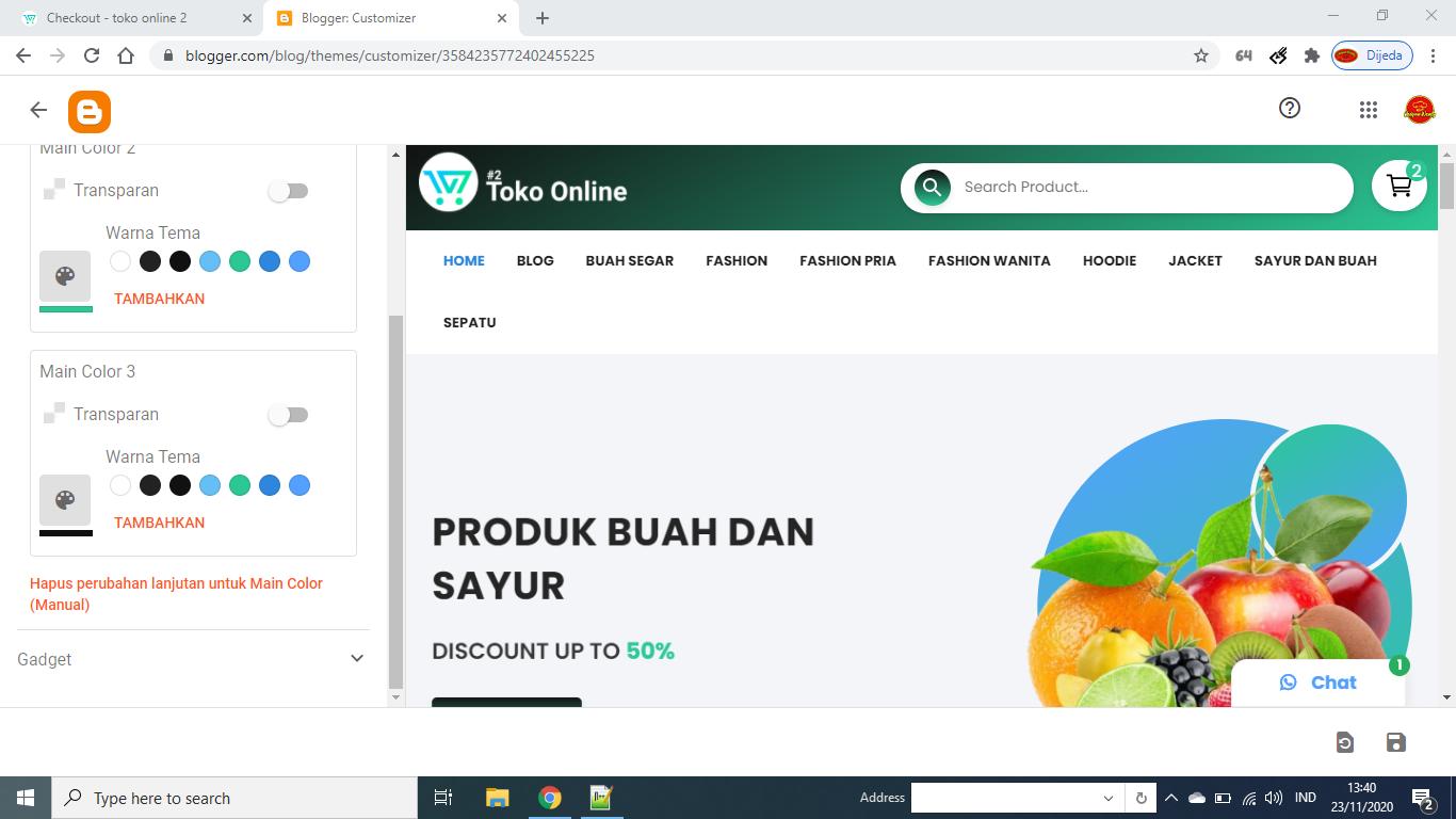 Toko online 2