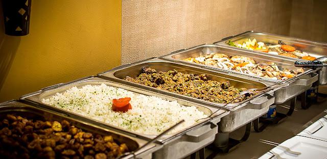 Restaurant, cuisine, bar, plat, boisson, buffet, LEUKSENEGAL, Dakar, Sénégal, Afrique