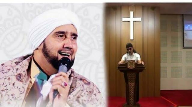 Habib Qadir Assegaf Sebut Orang NU Ceramah di Gereja Otaknya Sudah Rusak