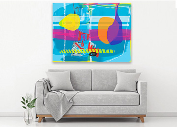 abstract art, abstract digital painting, multi coloured art, contemporary art, digital painting, Sam Freek, modern art, urban art, original art, buy art, artwork, artist,