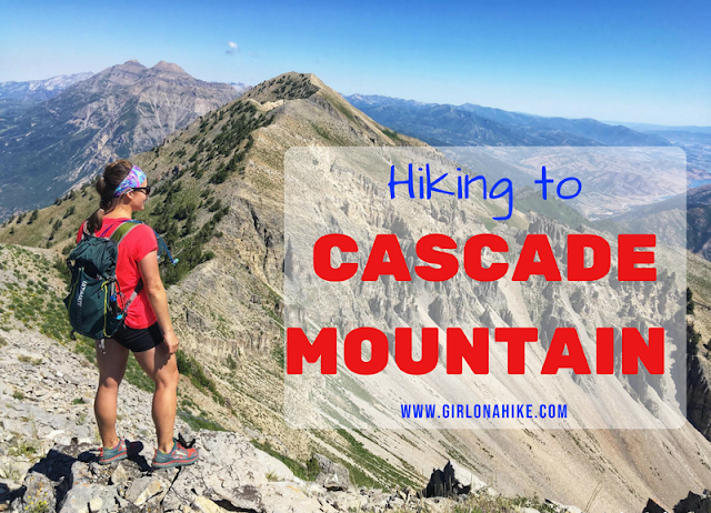 Hiking to Cascade Mountain