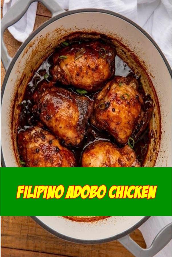 #FILIPINO #ADOBO #CHICKEN