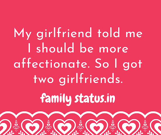 Funny relationship jokes one liners in english