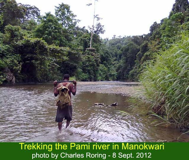 Jelajah Sungai Pami di Papua Barat