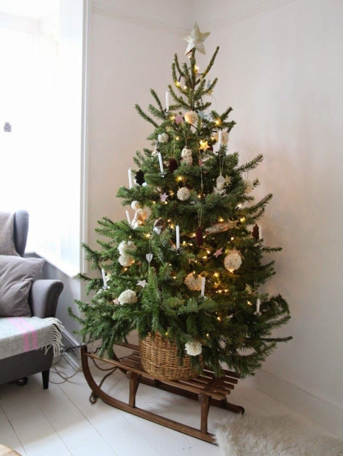 Easy and Inexpensive DIY Christmas Tree Decoration Ideas