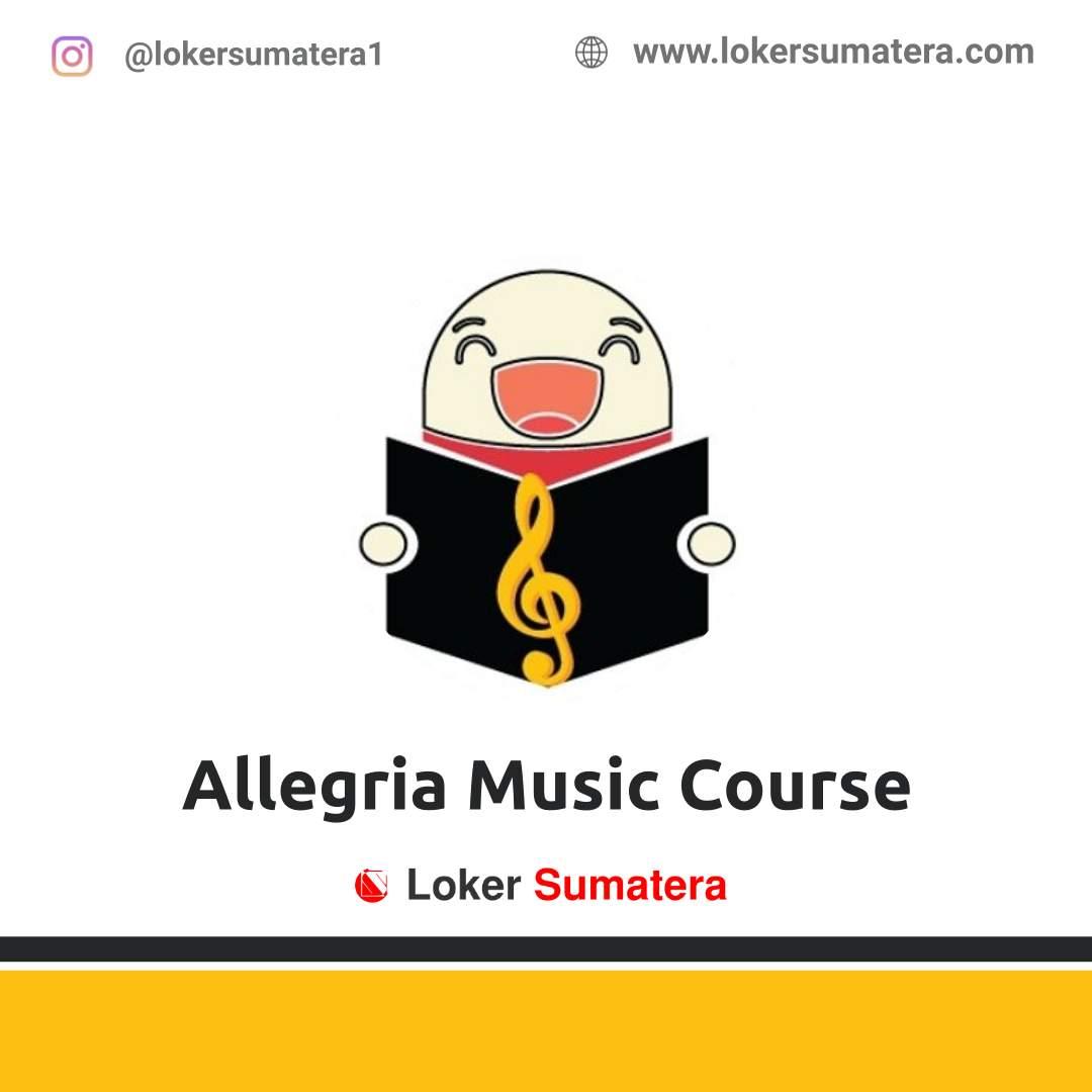 Lowongan Kerja Padang: Allegria Music Course Desember 2020