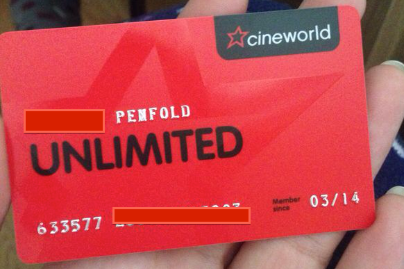 Cineworld Food And Drink Price List