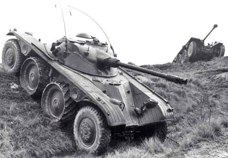 Бронеавтомобіль Panhard EBR 75