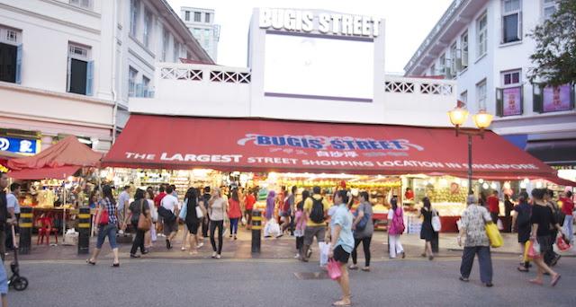 Singapore Bugis Street Shopping Under $50