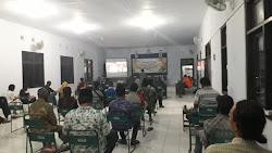 Debat Pertama Pilbup Purworejo, PPK Pituruh Gelar Nonton Bareng