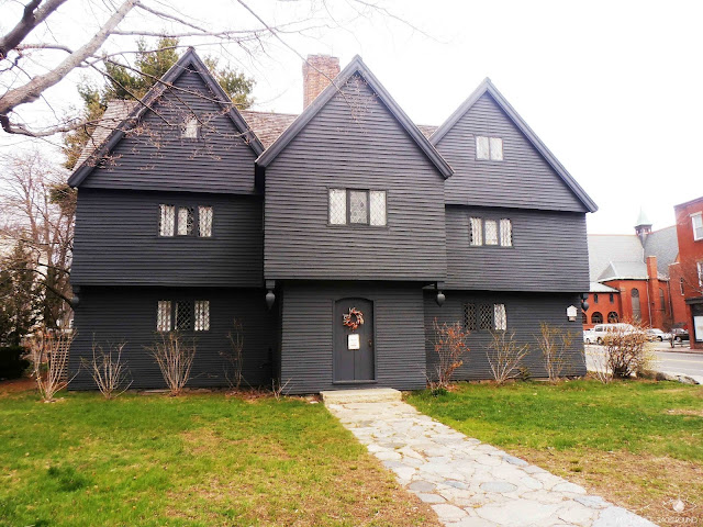 My Travel Background : Halloween à Salem - The Witch House, la Maison des Sorcières
