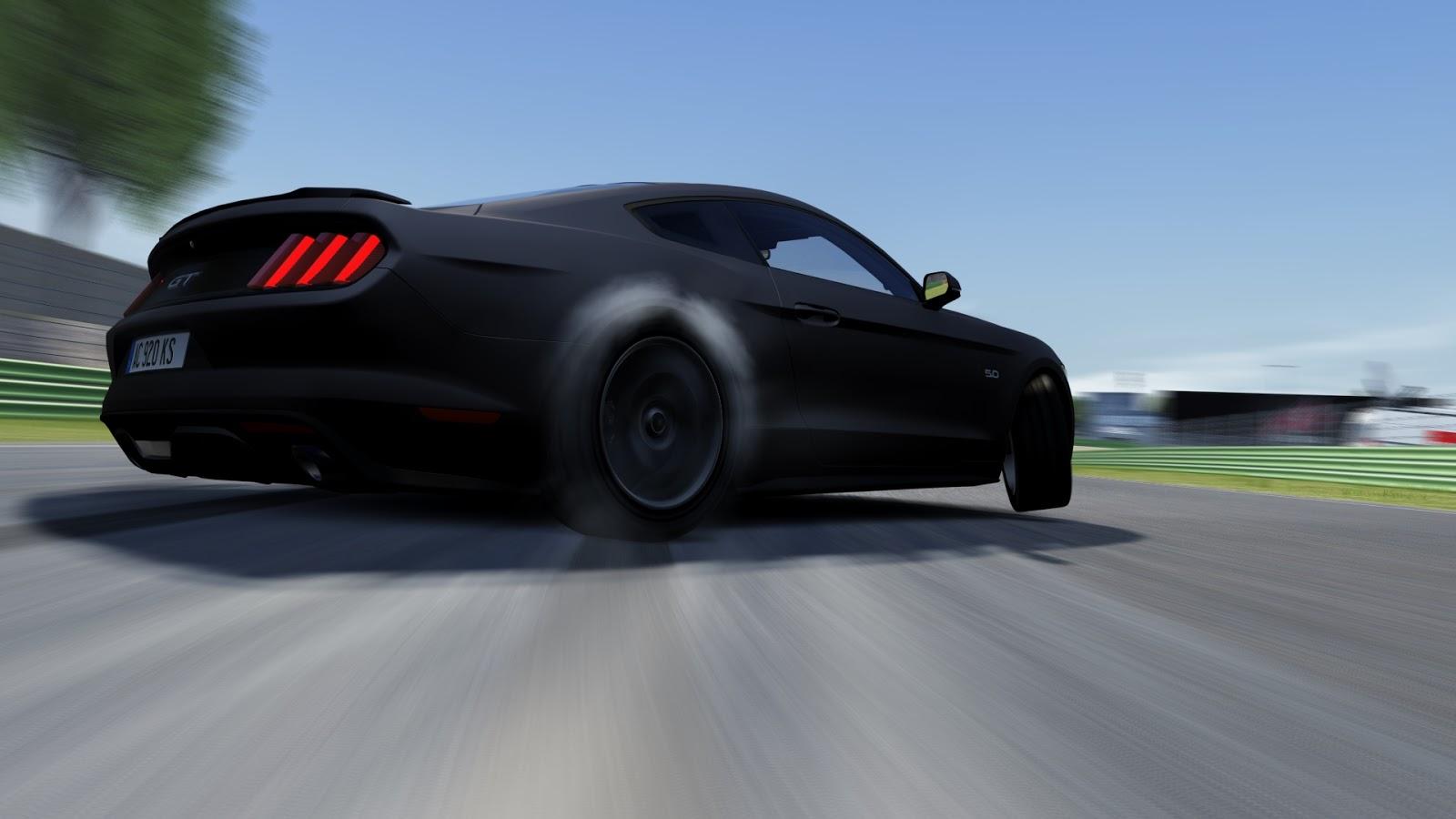 Assetto Corsa Ford Mustang 2015 Drift