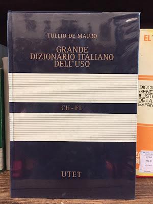 Tulio de Maruo grande dizionario Italiano dell'uso