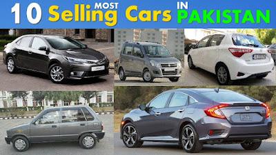 Top 10 Best Selling Cars In Pakistan
