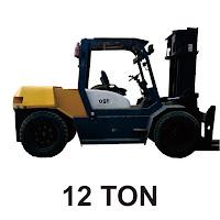 Rental Forklift 12 Ton