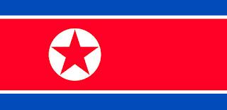 Gambar Bendera Korea Utara