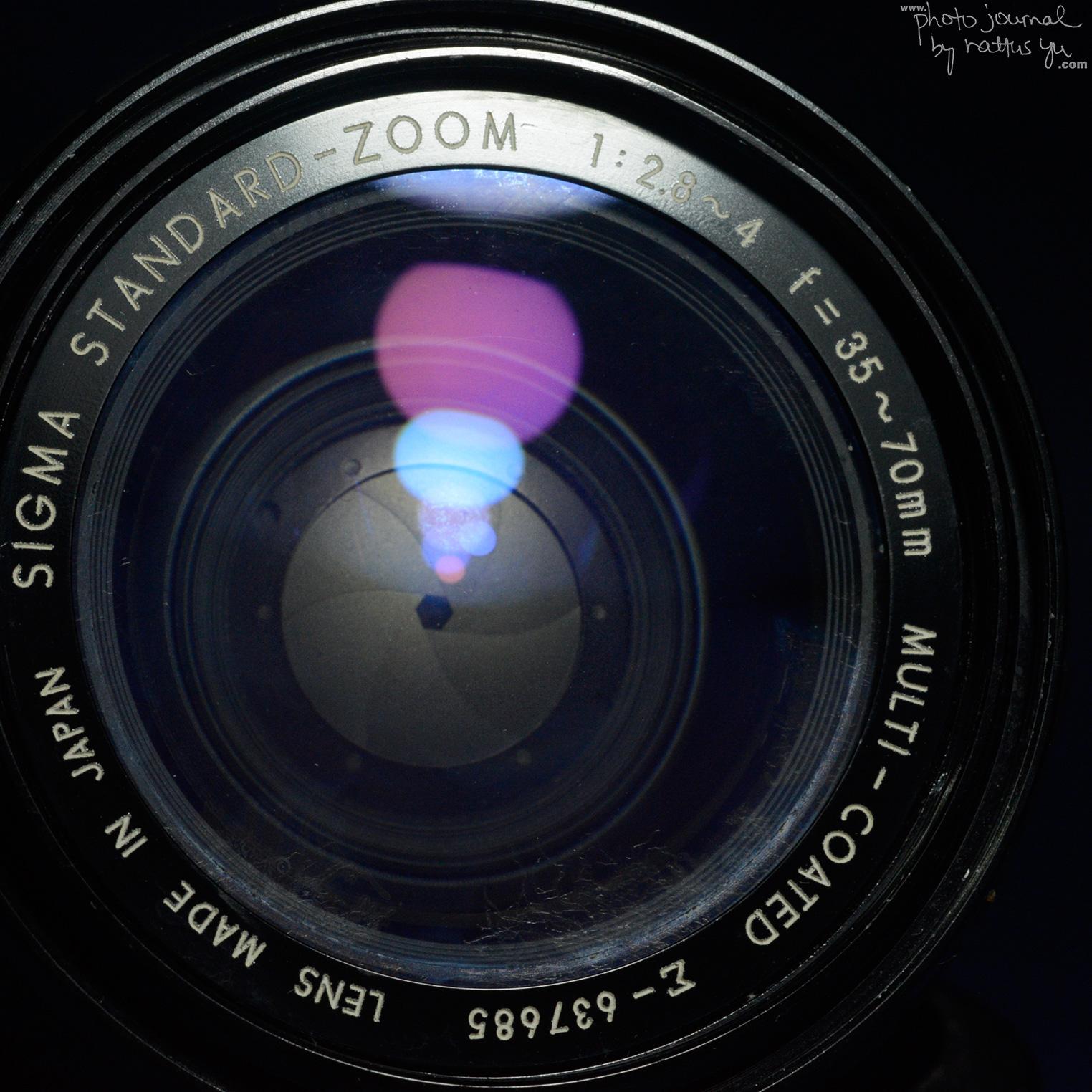 Sigma 35-70mm f/2.8-4 Standard Zoom MC (1982)