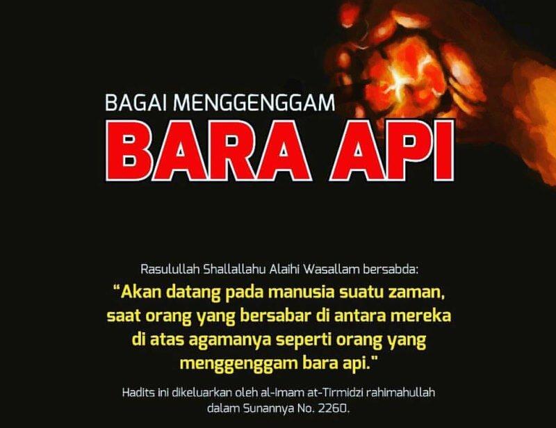 Islam Umpama Bara Api
