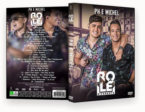 PH & MICHEL ROLE DIFERENTE DVD-R OFICIAL