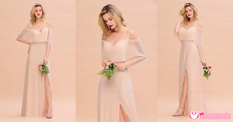 Vestidos de Dama de Honra Rosa