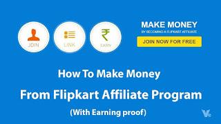 How to join Flipkart Affiliate Program