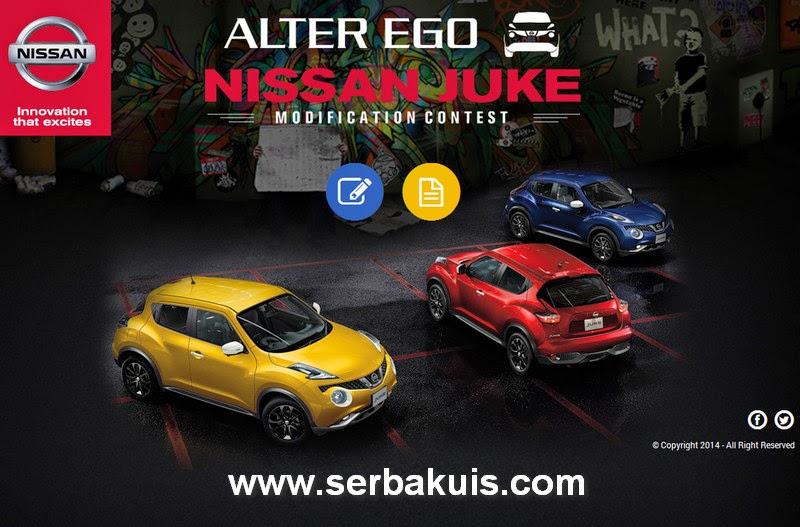 Kontes Modifikasi Nissan Juke Alter Ego Hadiah Dana Modif Total 150 JUTA