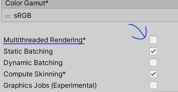 【Unity】AR Foundationを使ったアプリのIL2CPPでのビルドで、画面のちらつきが起こる際の対処法