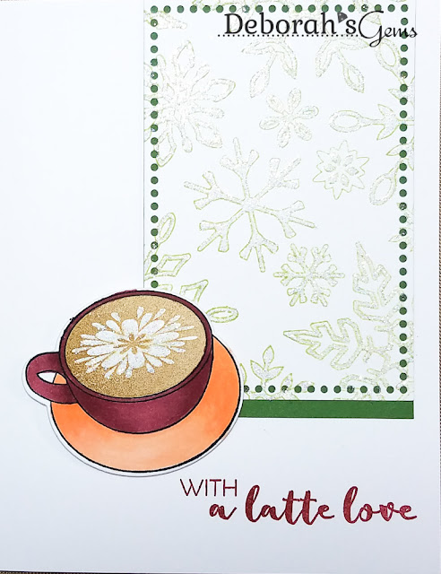 Latte Love - photo by Deborah Frings - Deborah's Gems