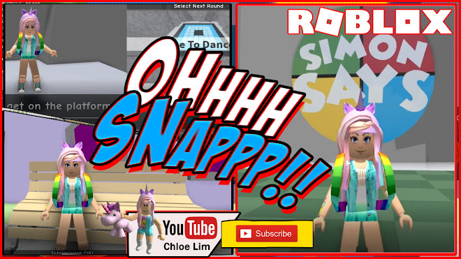 Roblox Till You Re Dead Youtube Chloe Tuber Roblox Simon Says Gameplay Playing Till I Get To Be Simon