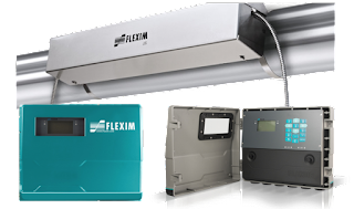 FLEXIM - FLUXUS F721 Series Clamp On Ultrasonic Flow Meter