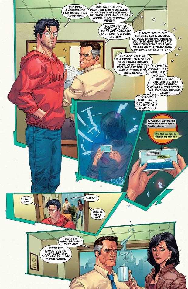 Superman hat keine Lust mehr auf Reichweite