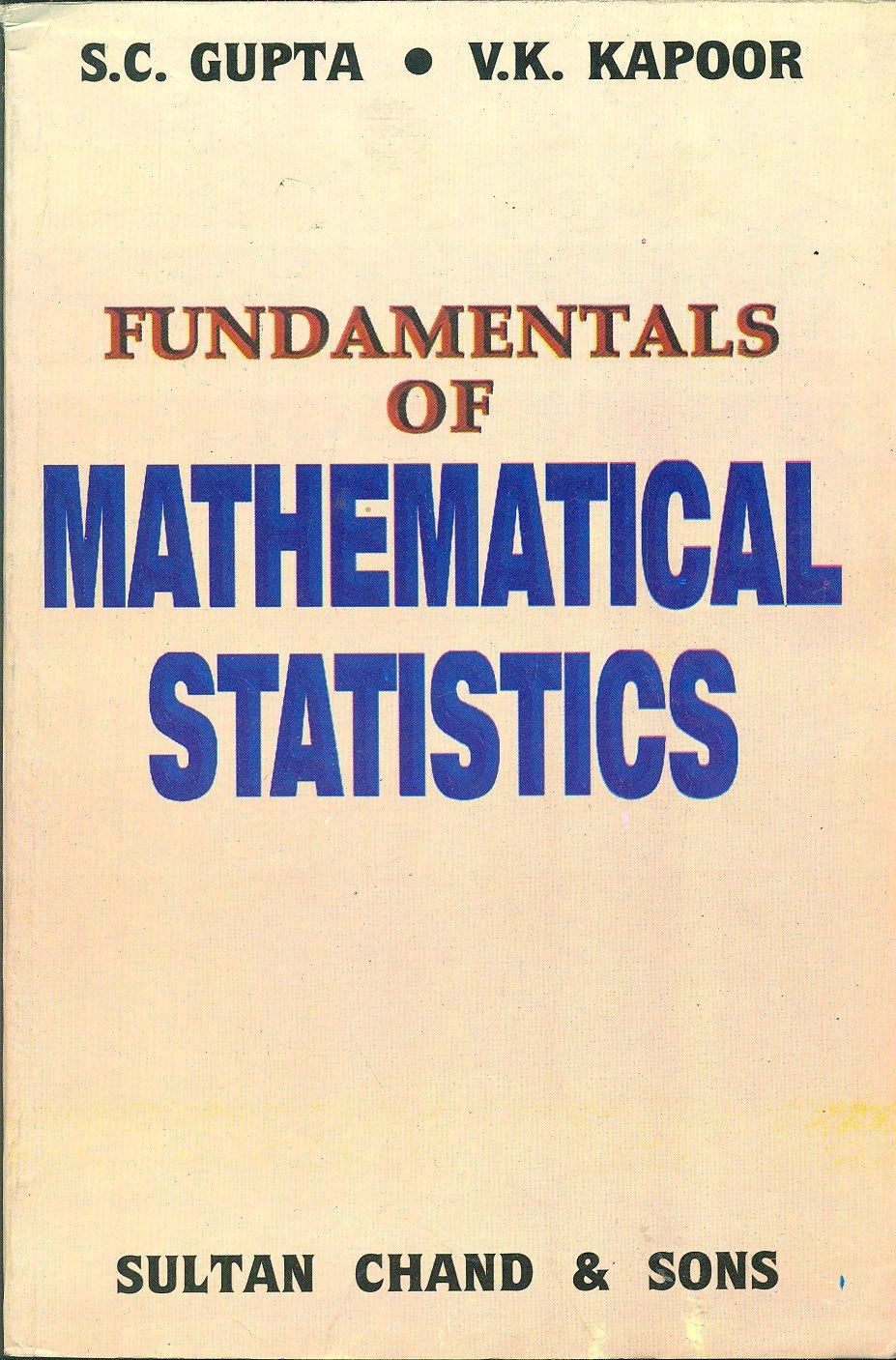 Sc Gupta Fundamental Of Statistics Pdf Pdf Books For Students