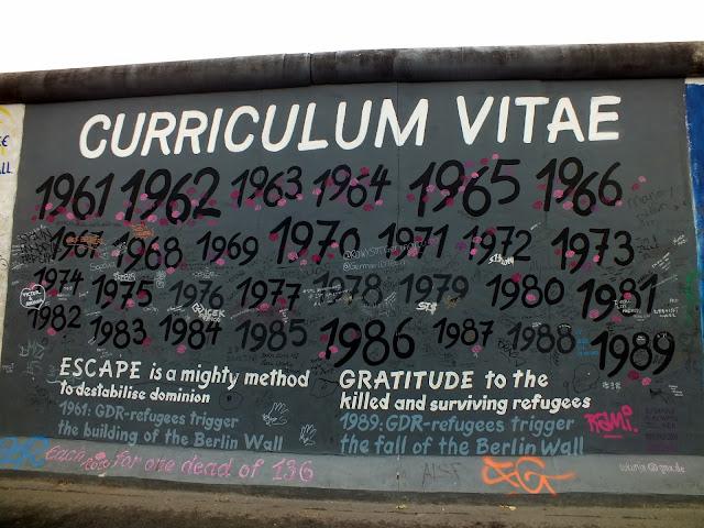 curriculum vitae muro de berlín