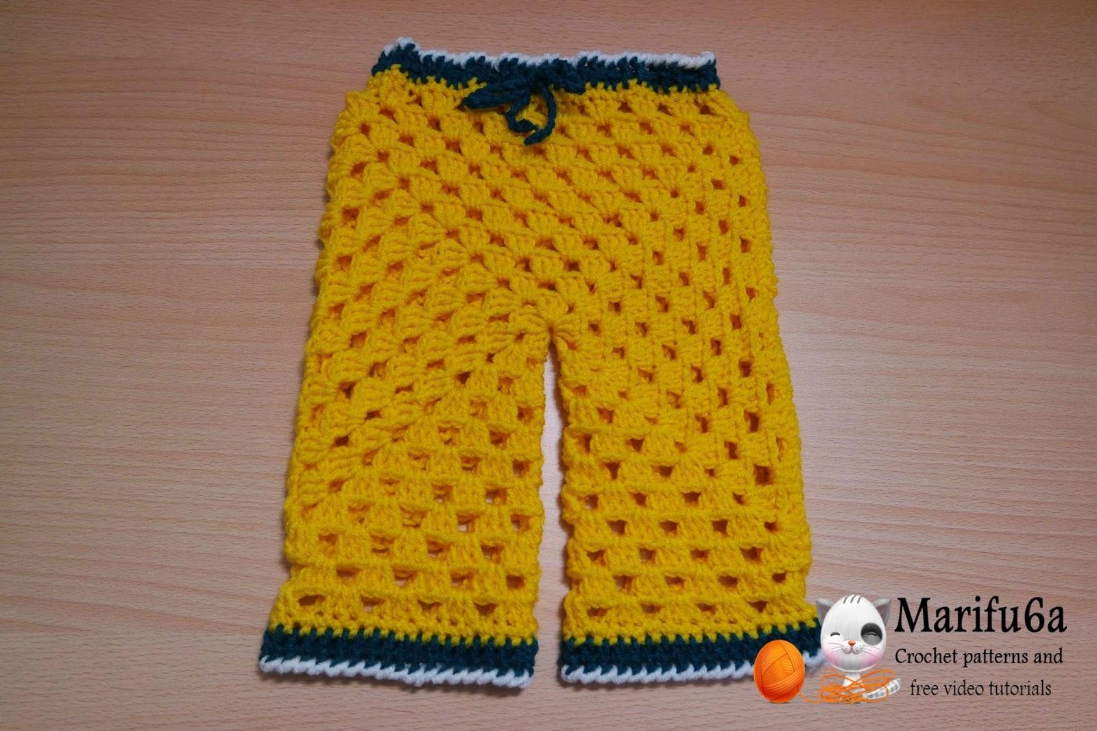Crochet Baby Jacket Tutorial : Free crochet patterns and video tutorials: how to crochet ...