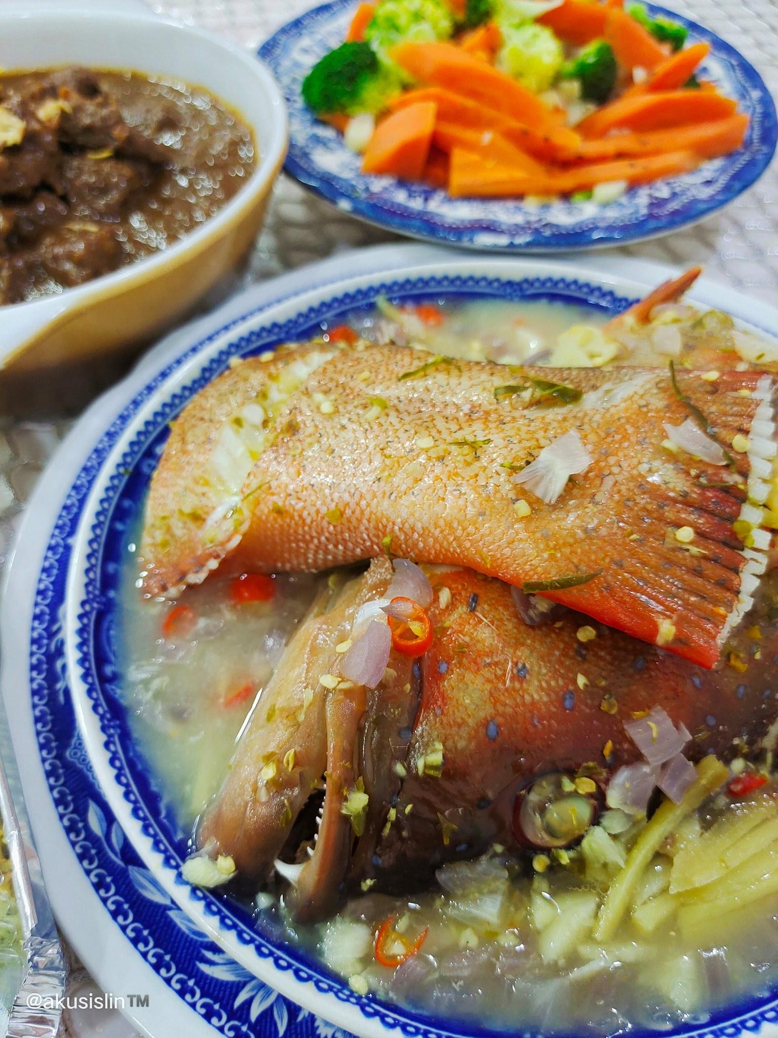 Ikan Kerapu Stim Halia