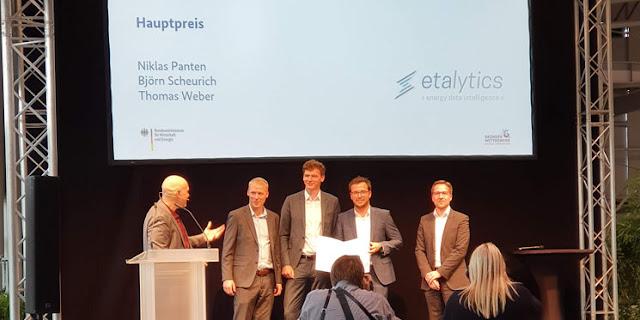 EMO Hannover 2019 - etalytics wurde ausgezeichnet