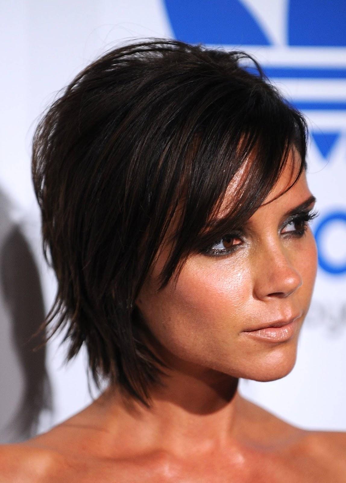 celebrity hairstyle victoria beckham medium haircut. Black Bedroom Furniture Sets. Home Design Ideas