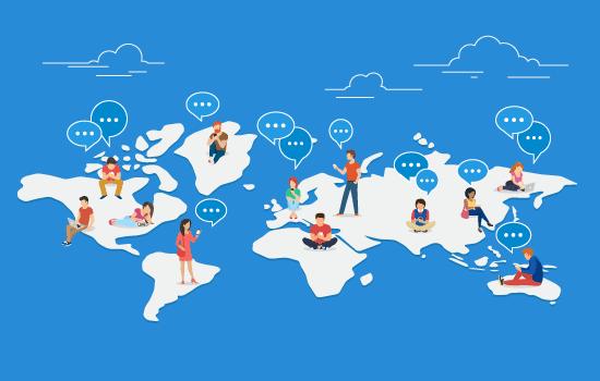 Social Network Development in Pandemic