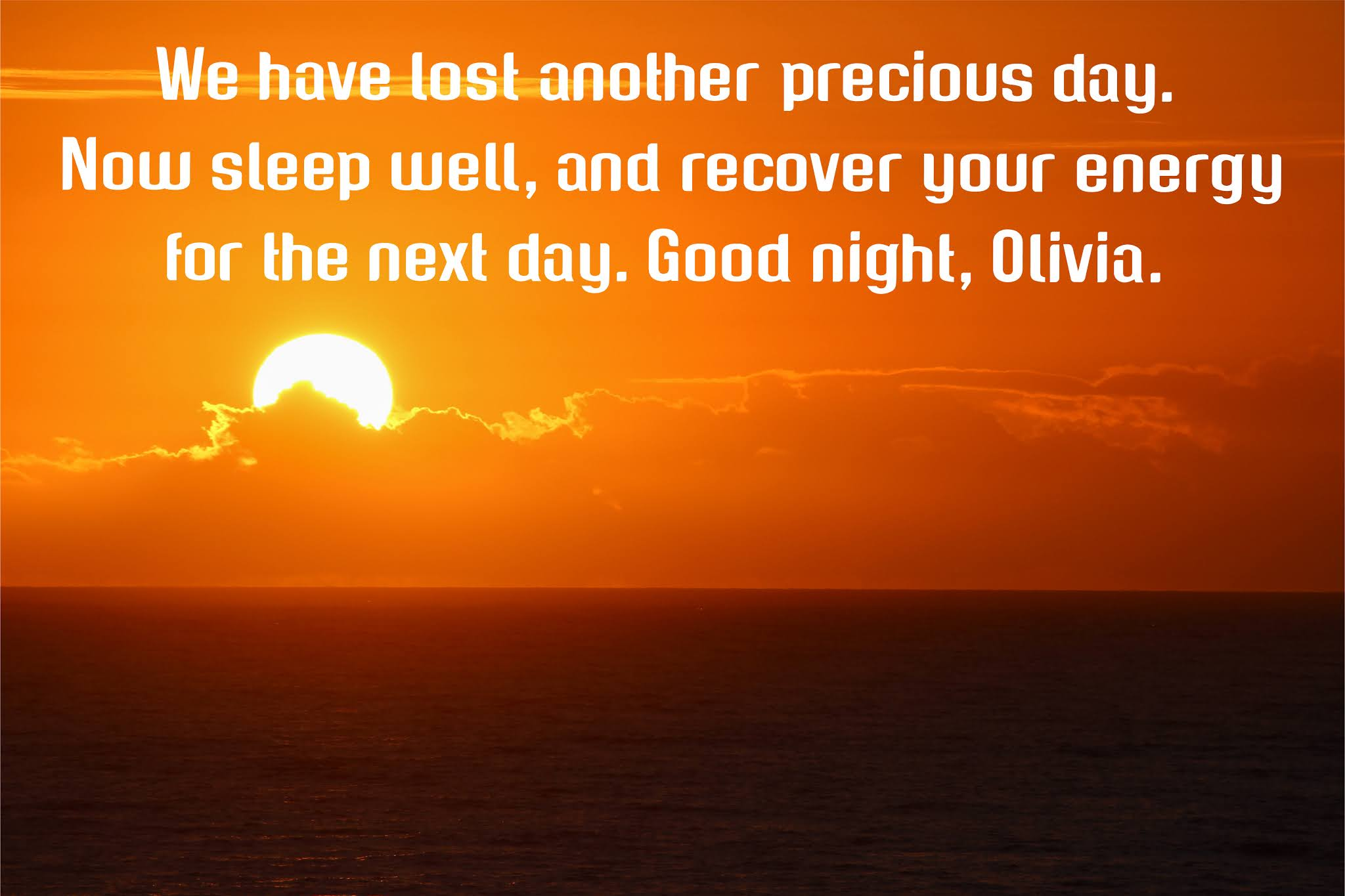 Good night message for a darling friend