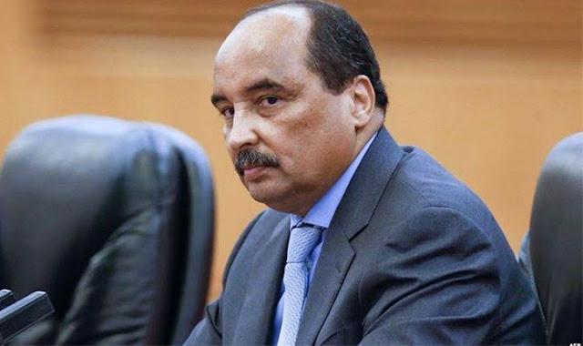 إسبانيا : شباب موريتانيّون يحاصرون الرئيس ولد عبد العزيز