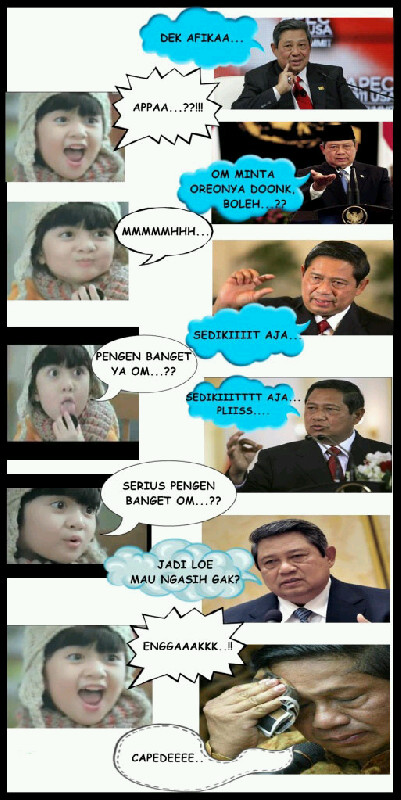 Komik Afika VS Pak SBY