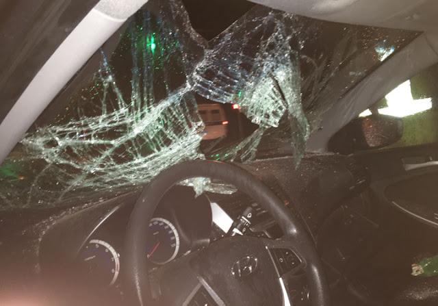 В Уфе водитель ночью сбил двух пешеходов