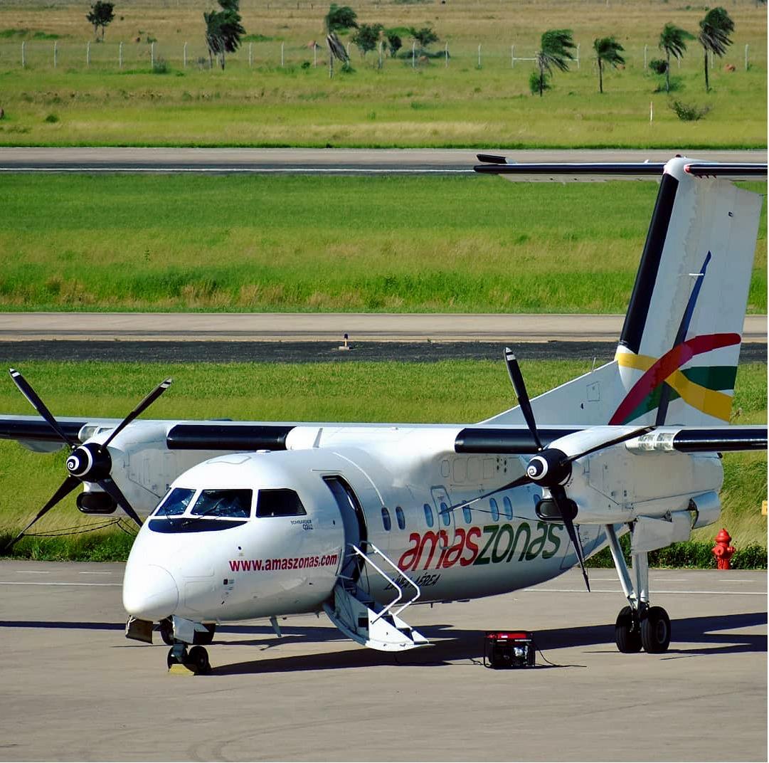 Amaszonas habilita vuelos solidarios A zona afectada por incendios