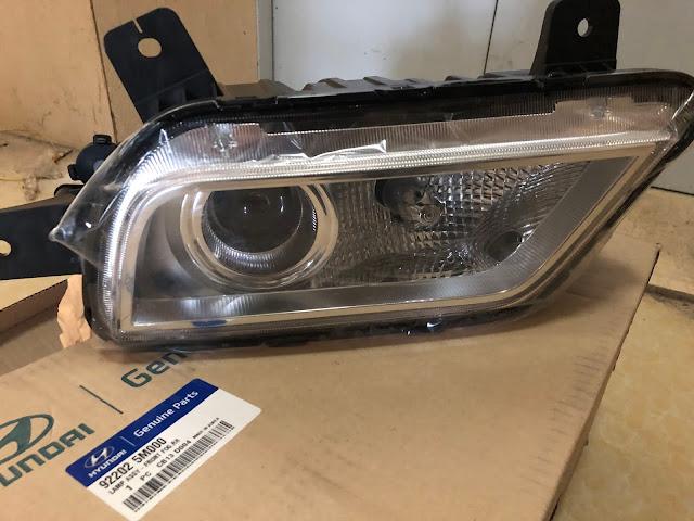 Bán phụ tùng đèn sương mù Hyundai EX6 - EX8