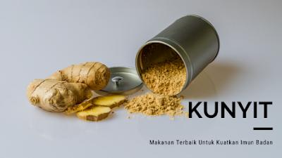 Makanan Terbaik Untuk Kuatkan Imun Badan