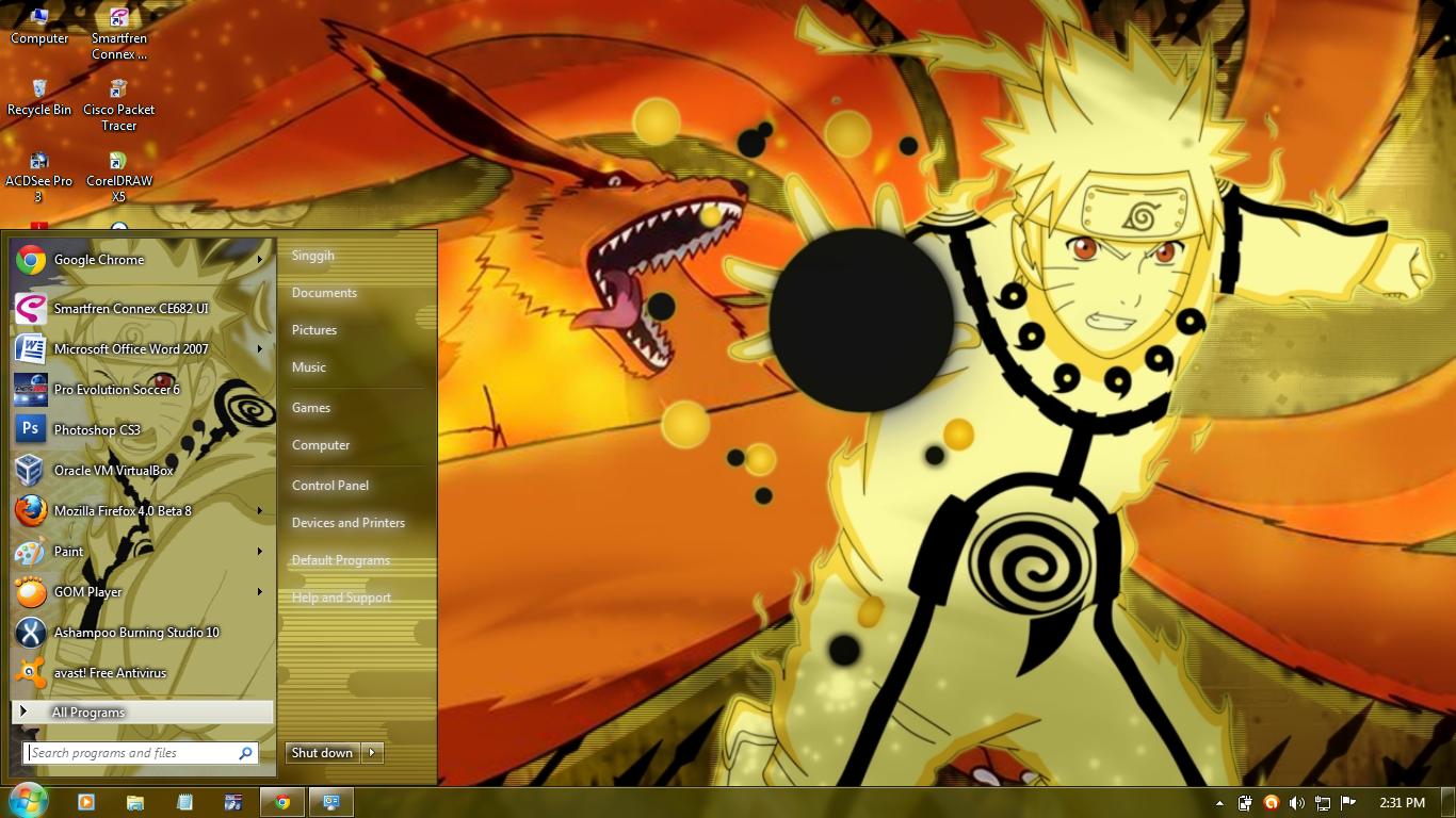 Wallpaper Animasi Bergerak Naruto Untuk Windows 7 Images Hewan