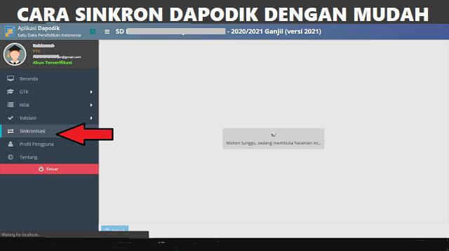 Cara Sinkron Dapodik